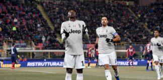 Bologna-Juventus, Coppa Italia