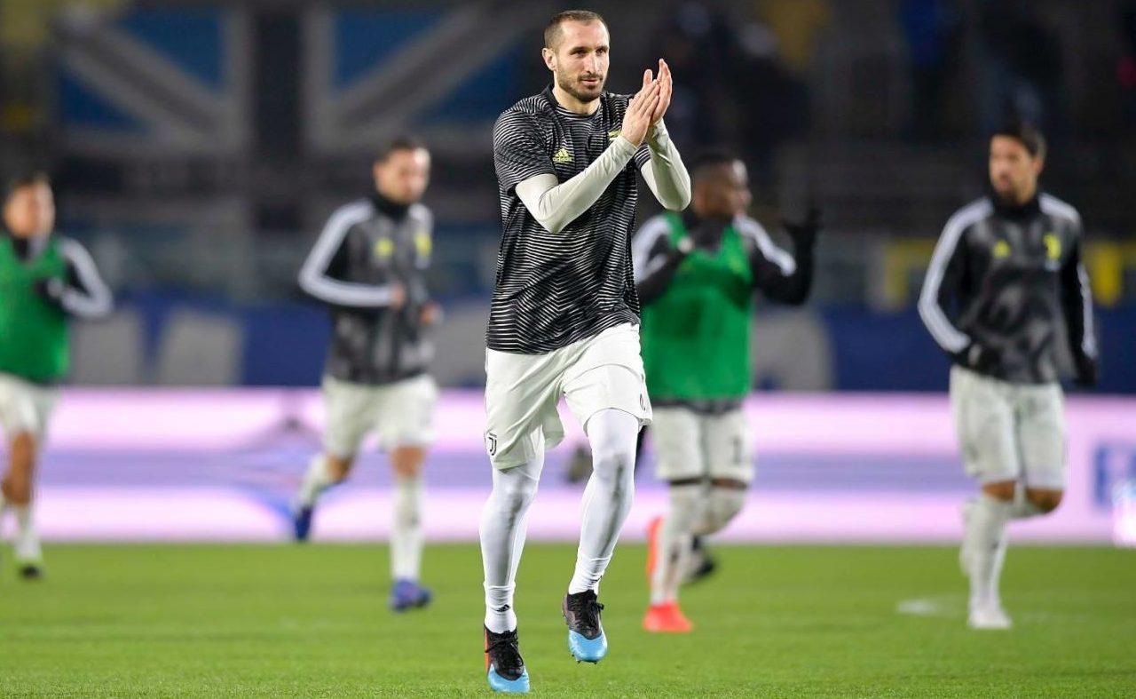 Buffon, Chiellini, Juventus