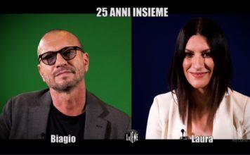 le iene Laura Pausini biagio antonacci