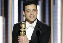 Rami Malek vince ai Golden Globes 2019