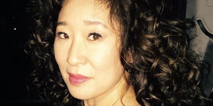 Sandra Oh premiata ai Golden Globes 2019