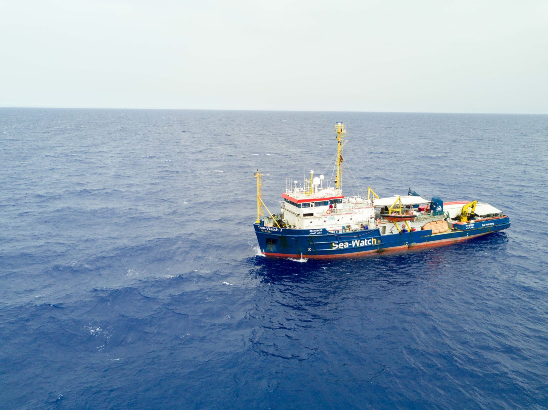 Sea Watch 3 Carola Rackete Matteo Salvini