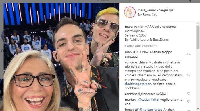 Achille Lauro Venier Instagram