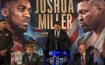 Jarrell Miller, Anthony Joshua