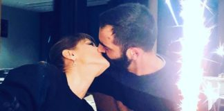 Bacio tra Alessandra Amoroso e Stefano