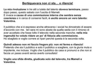 Amici, Loredana Bertè