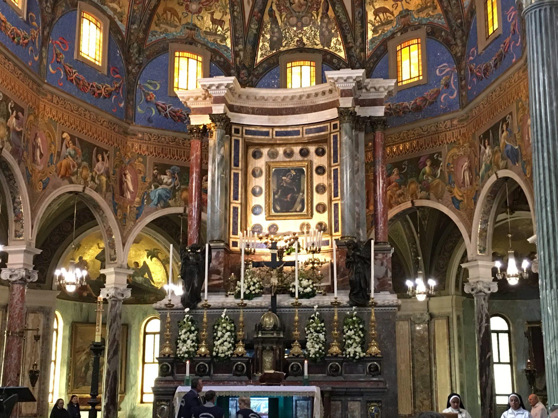 Madonna del Rosario Pompei