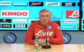 Napoli-Genk, Carlo Ancelotti