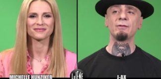 Le Iene intervista doppia a Michelle Hunziker e J-Ax