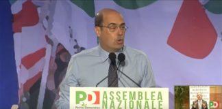 Coronavirus, PD, Zingaretti Di Maio Governo Prescrizione Saviano