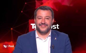 Salvini voto in Umbria, salvini
