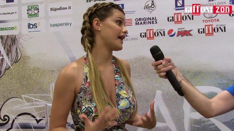 """Jenny De Nucci a Giffoni: """"Le mie icone sono i miei genitori"""""""