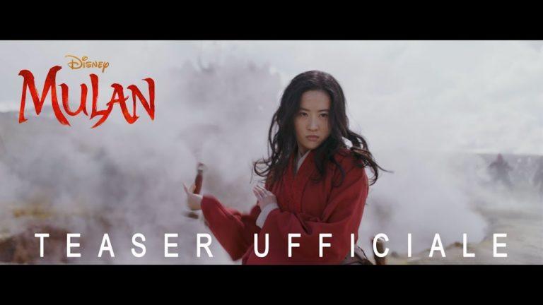 Mulan: svelato il primo trailer italiano del live action Disney