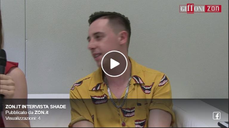 Il rapper Shade al Giffoni Experience 2019: l'intervista