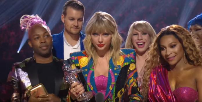 mtv video music awards taylor swift