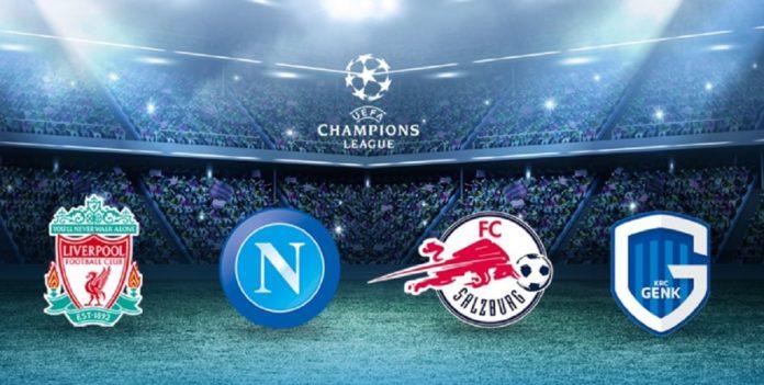 napoli, champions league