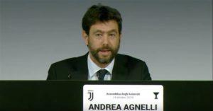 """Agnelli alza la voce: """"Gli scudetti si vincono in campo"""""""