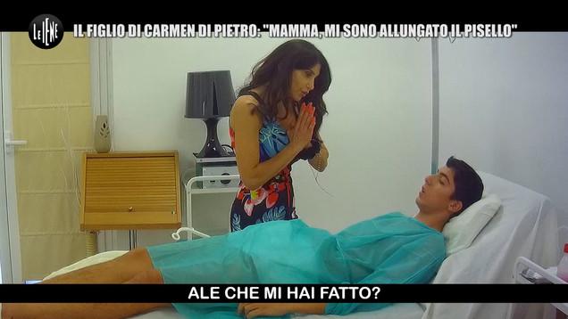 Le Iene, Carmen Di Pietro vittima di uno scherzo