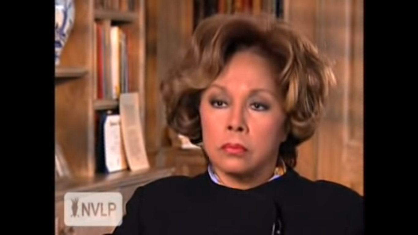 È morta Diahann Carroll, star della tv da 'Dinasty' a 'Grey's Anatomy'