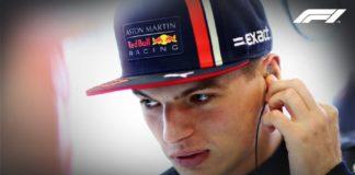 Verstappen, Formula 1