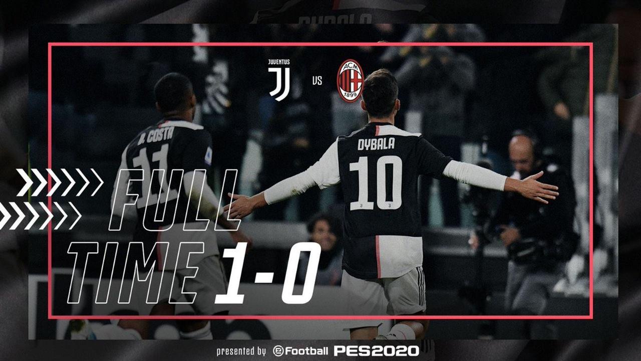Afbeeldingsresultaat voor Juventus Milan 1-0