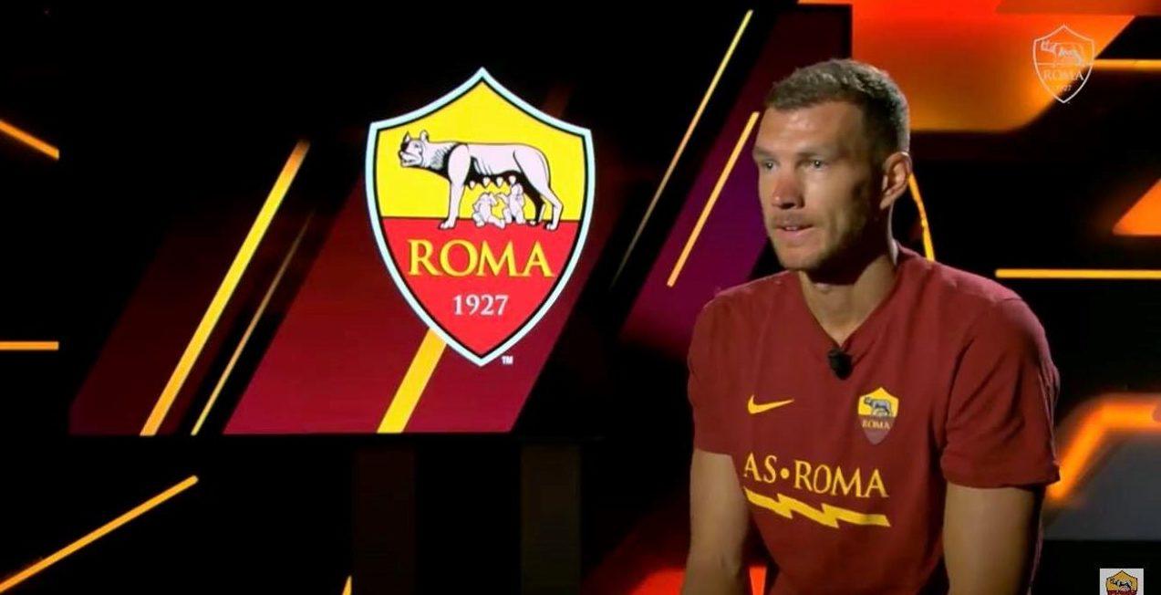 Dzeko, Roma