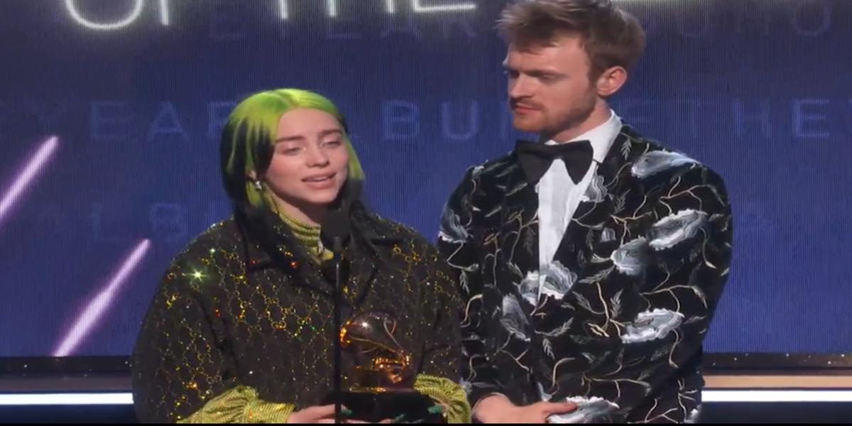 Grammy Awards, Billie Eilish fa il pienone con 5 riconoscimenti