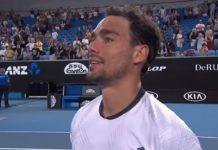 Fognini, Australian Open