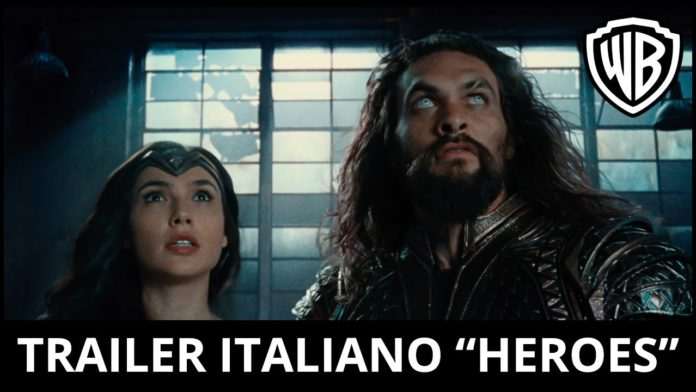 justice league stasera in tv