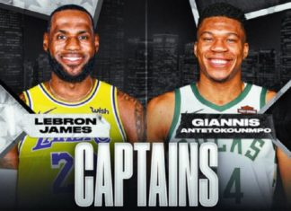 nba all star game, lebron, giannis