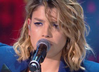 Emma canta Luci blu