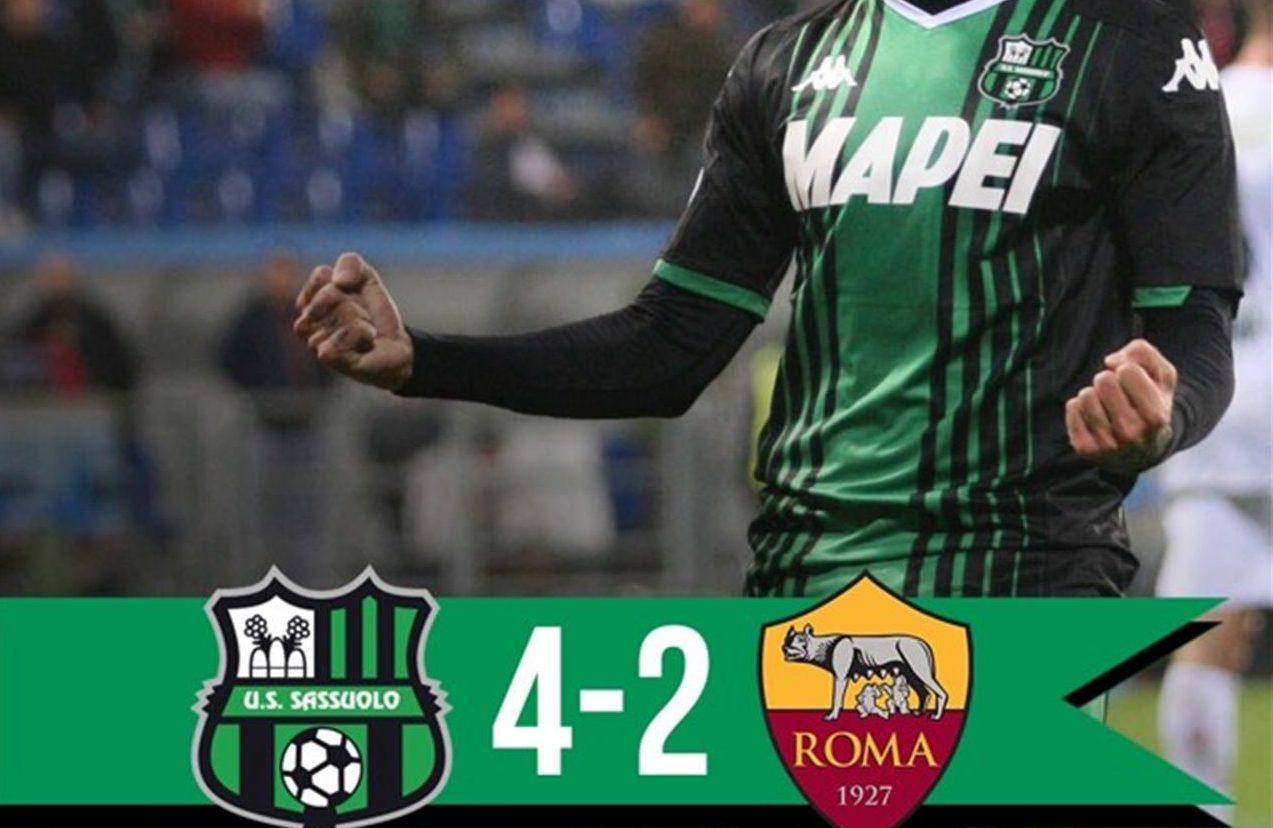 Sassuolo Roma 4 2 Giallorossi Mai In Partita Terza Sconfitta Nel