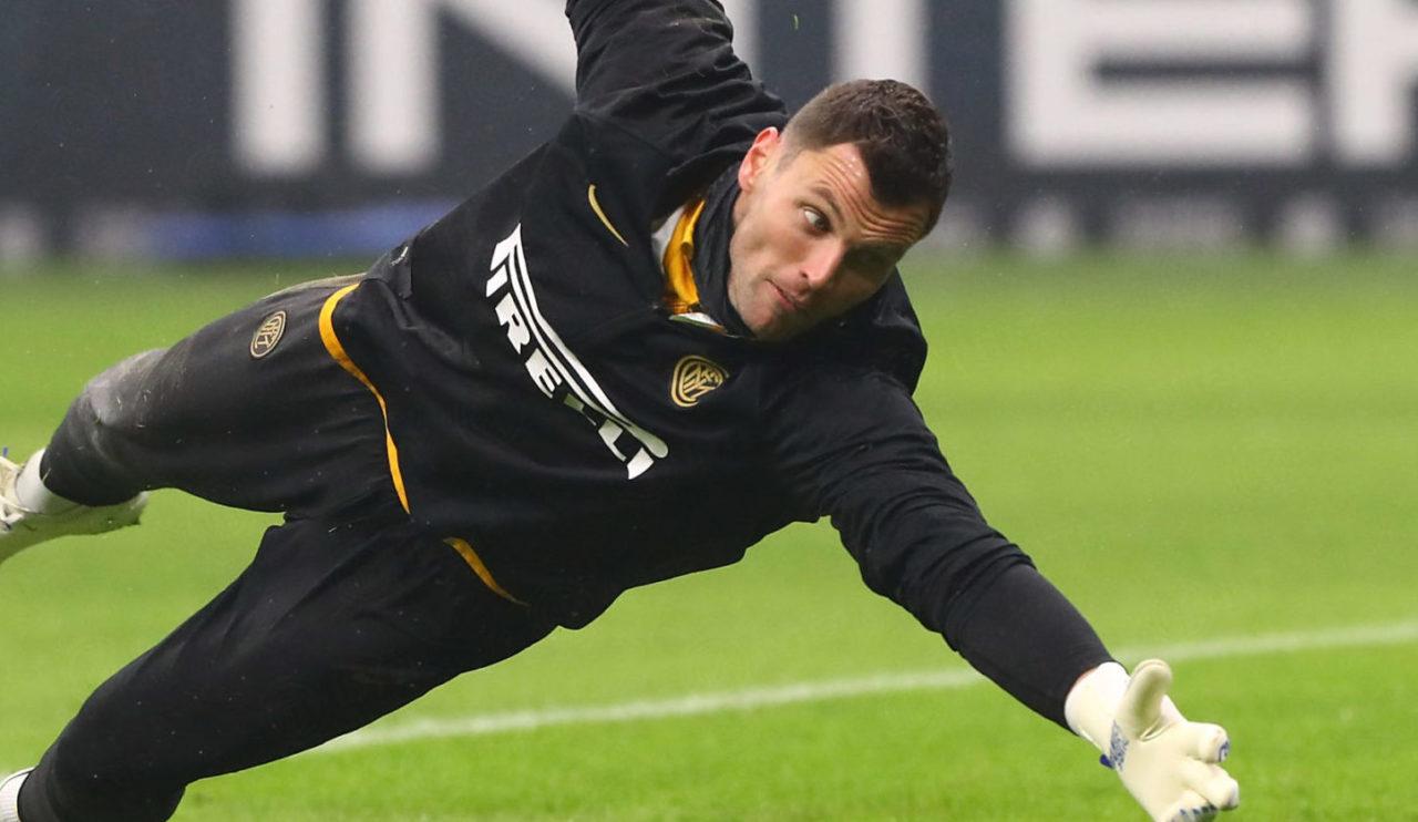 Inter, Padelli sarà titolare anche dopo l'arrivo di Viviano