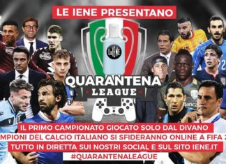 Quarantena League, Le Iene