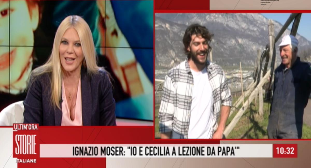 Ignazio e Francesco Moser raccontano la quarantena con Cecilia ...