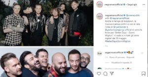 "OneRepublic e Negramaro insieme    in arrivo ""Better Days"""