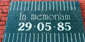 Heysel |  il commosso ricordo di un giorno senza luce