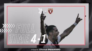 Juventus Torino 4 1, i bianconeri calano il poker