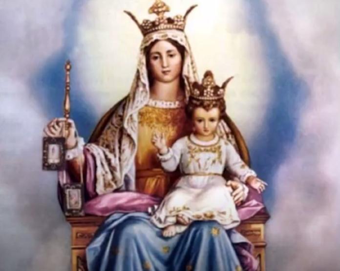 madonna del carmine Maria