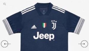"""Juventus, presentata la maglia """"Away"""" per la stagione 2020/21"""