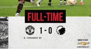 Manchester United Copenaghen 1 0: decide Bruno Fernandes su rigore