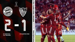 Bayern Monaco Siviglia 2 1, Javi Martinez decide la Supercoppa Europea