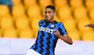 Inter, Hakimi positivo: salta la Champions col Borussia