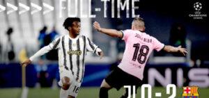 Juventus-Barcellona 0-2, rimandata la Vecchia Signora
