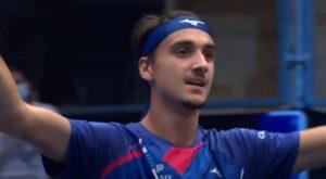 ATP Vienna, Sonego in finale contro Rublev: battuto Evans