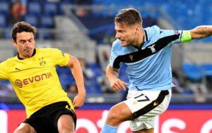Lazio-Borussia Dortmund 3-1 |   in gol Immobile e Akpa-Akpro in una serata da sogno per i biancocelesti