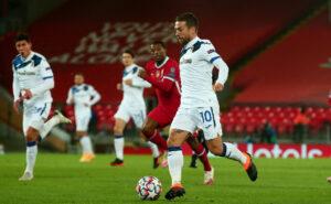 Liverpool-Atalanta 0-2    la Dea espugna Anfield    Ilicic torna al gol