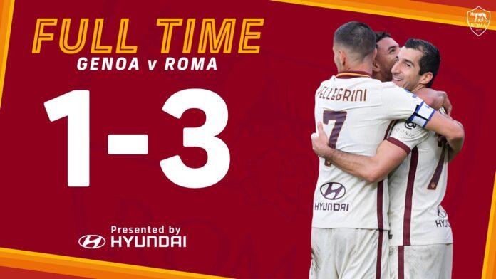 Genoa-Roma, Mkhitaryan