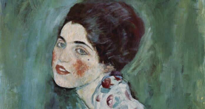 Gustav Klimt ritratto di signora