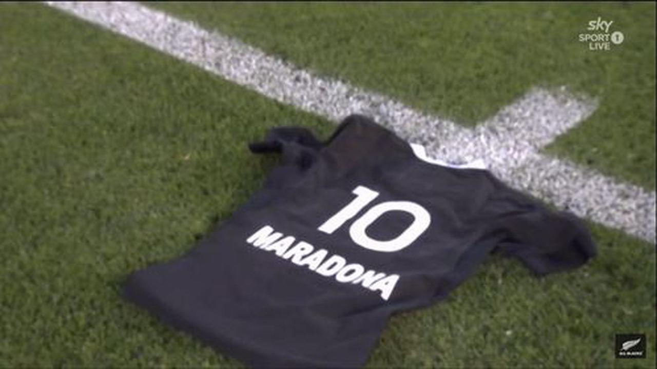 Maradona, All Blacks